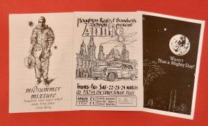 Programmes from Houghton Regis Upper School/ Brandreth Middle School Performances