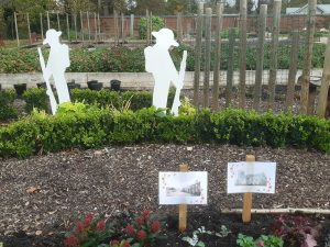 The Walled Garden at Houghton Hall Park Commemoration of Armistice Day November 11th 2020
